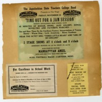 Advertisements, ca. 1949